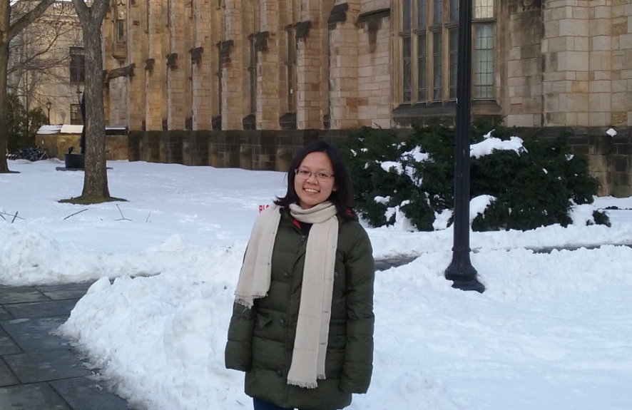 Honours year prepares Yen Tran for Yale's Graduate School