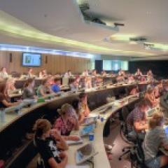 CEPA workshop participants in lecture theatre
