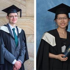 The 2016 Economics Honours Students Awarded University Medals
