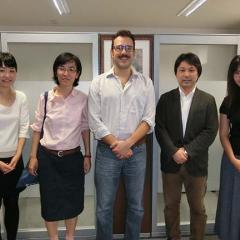 Dr Marco Faravelli visits Kyoto University