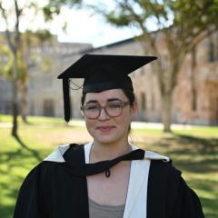 PPE (Hons) 2020 graduate Greer Clarke