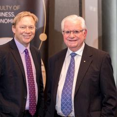 Professor Andrew Griffiths and Dr Vince FitzGerald AO
