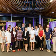 Winners at the annual UQ School of Economics Scholarship and Prizes Ceremony