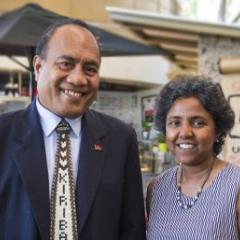 President of Kiribati eyes UQ for research partnerships