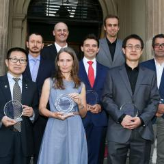 Research Week award winners