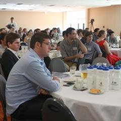 Economics students and industry representatives came together for the 2015 Careers Breakfast